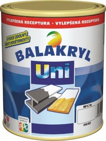 Farba pre vonkajšie a vnútorné použitie na drevo, kovy, betón a